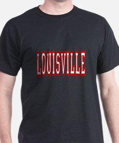 louisville_red_letters T-Shirt