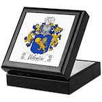 Valentini Family Crest Keepsake Box