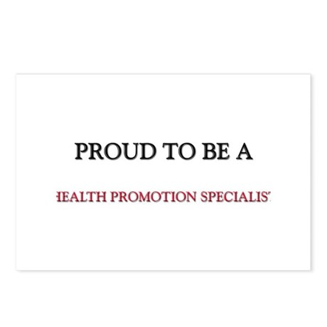 Proud to be a Health Promotion Specialist Postcard