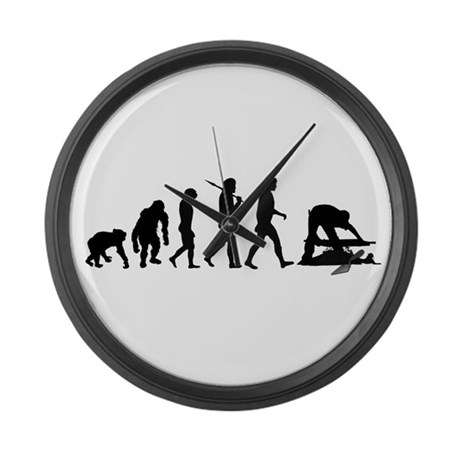 Archaeologist Large Wall Clock
