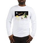 Night Flight/C Crested #9 Long Sleeve T-Shirt