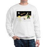 Night Flight/C Crested #9 Sweatshirt
