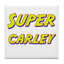Super carley Tile Coaster
