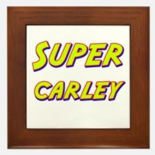 Super carley Framed Tile