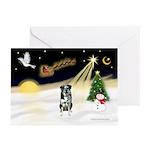 Night Flight/Catahoula Greeting Cards (Pk of 20)