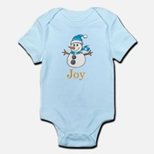 Snowman Joy Infant Bodysuit