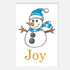 Snowman Joy Postcards (Package of 8)