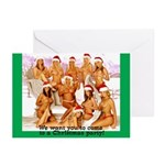 Christmas Party Invitations (Pk of 10)