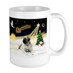 Night Flight/Bull Mastiff Large Mug
