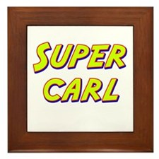 Super carl Framed Tile