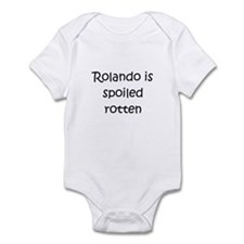 Funny Rolando Infant Bodysuit
