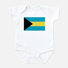 Bahamas Flag Infant Bodysuit