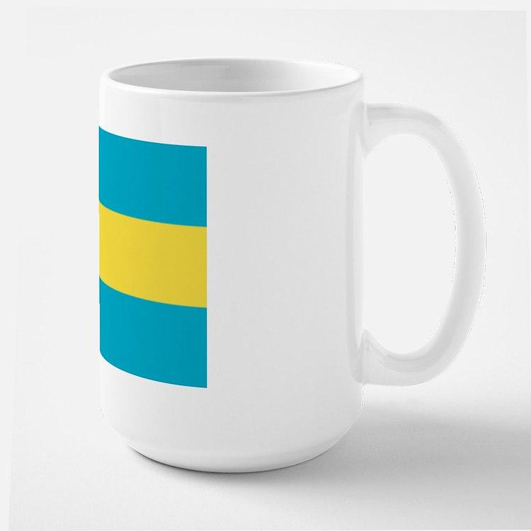 Bahamas Flag Large Mug