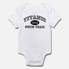 Titanic Swim Team Infant Bodysuit