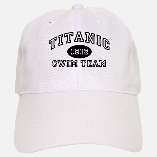 Titanic Swim Team Baseball Baseball Cap
