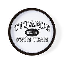 Titanic Swim Team Wall Clock