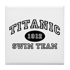 Titanic Swim Team Tile Coaster