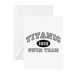 Titanic Swim Team Greeting Cards (Pk of 20)