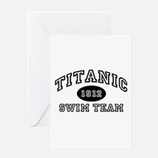 Titanic Swim Team Greeting Card