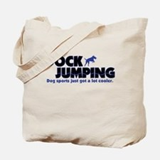 Cool Dock Jumping Tote Bag