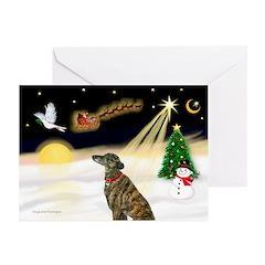 Night Flight/Greyhound(brin) Greeting Cards(Pk/10)