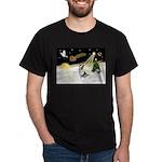 Night Flight/Corgi (BM) Dark T-Shirt