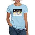 Night Flight/Corgi (BM) Women's Light T-Shirt