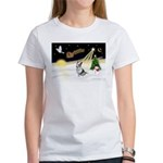 Night Flight/Corgi (BM) Women's T-Shirt