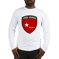 Free Burma Long Sleeve T-Shirt