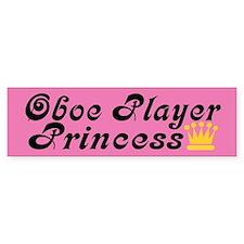 Oboe Princess Bumper Bumper Sticker