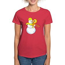 Snowman Trombone Tee