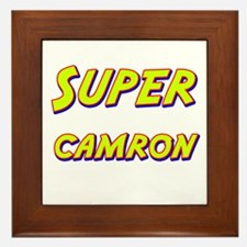 Super camron Framed Tile