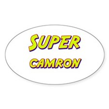 Super camron Oval Decal
