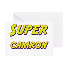 Super camron Greeting Card