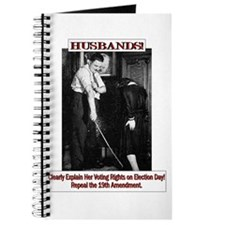 Political Humor (Wife) Journal