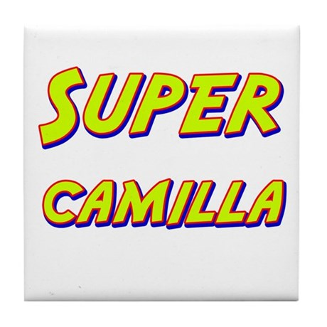 Super camilla Tile Coaster