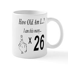 Cute 26th birthday party Mug