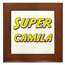 Super camila Framed Tile