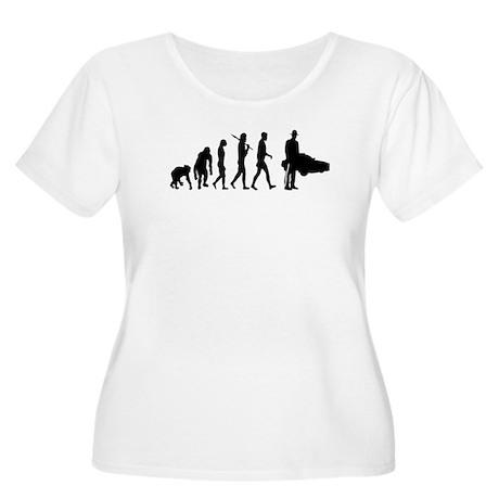 State Trooper Women's Plus Size Scoop Neck T-Shirt
