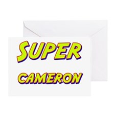 Super cameron Greeting Card