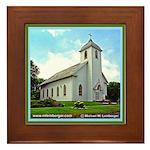 St. Aloysius Framed Tile