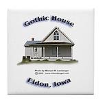 Gothic House Tile Coaster