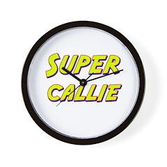 Super callie Wall Clock