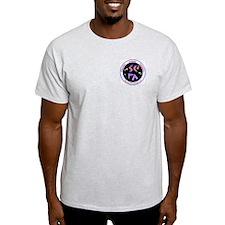 Grey SCFA Logo T-Shirt w/ website on back