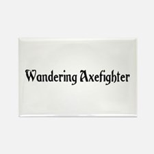 Wandering Axefighter Rectangle Magnet
