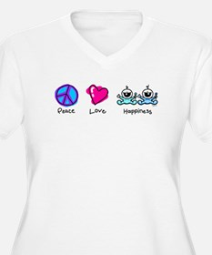 Peace Love and Twin Boys T-Shirt
