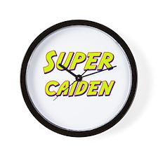 Super caiden Wall Clock