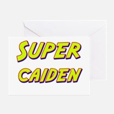 Super caiden Greeting Card