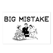 Big Mistake Postcards (Package of 8)