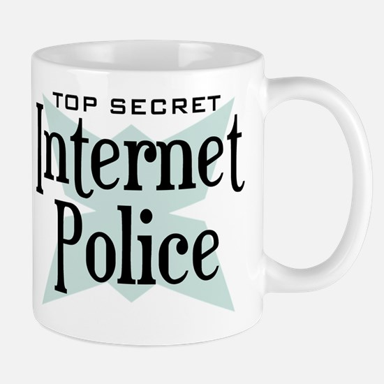 Secret Internet Police Mug